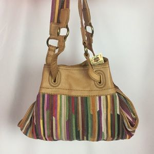 SALE 💕 Lucky Brand Multicolor Leather Hobo Bag